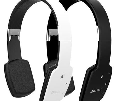 Photo of Micro Casque BELTEC CASQUE Bluetooth Blanc – 349dhs