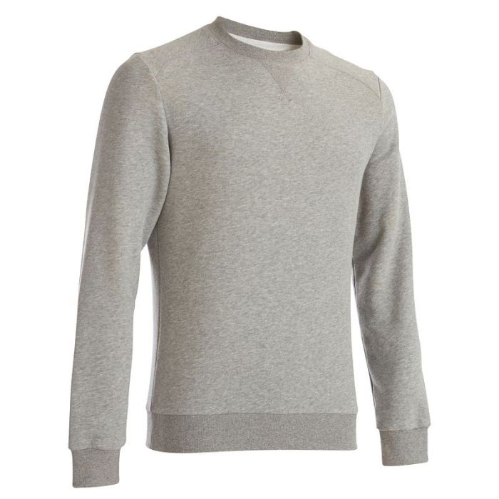 sweat-col-rond-gris