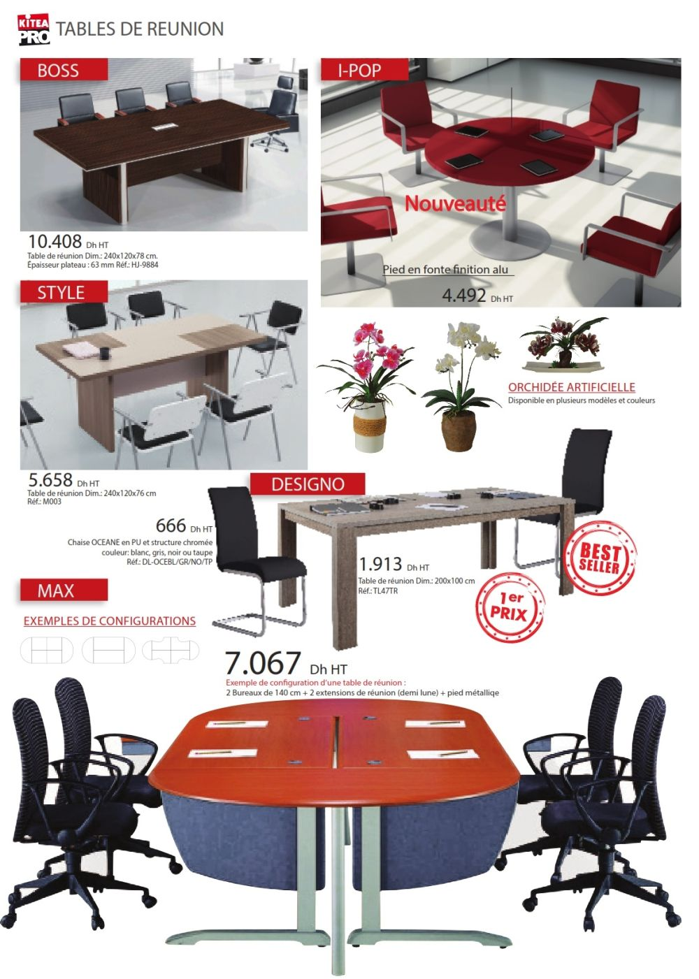 catalogue kitea collection 2016 solde et promotion du maroc. Black Bedroom Furniture Sets. Home Design Ideas
