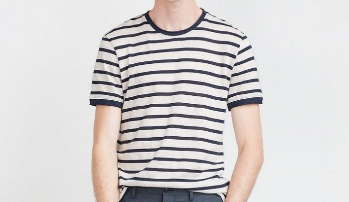 Photo of Solde Zara T-shirt rayé Manches courtes – 79dhs