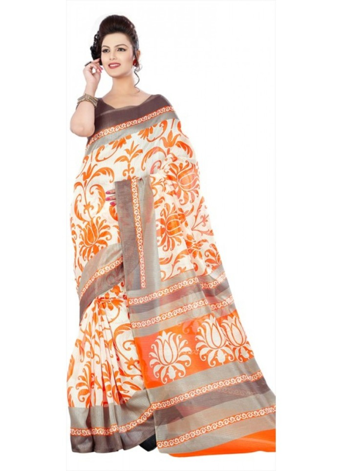 orange-white-and-off-white-color-family-printed-saree-in-silk-brocade-fabric-with-printed-work-800x1100