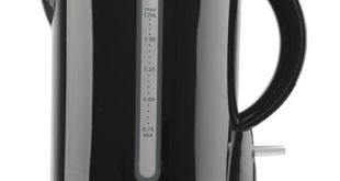 En Promotion Bouilloire WATER KETTLE ROYAL 1LITRE NOIR – 99dhs