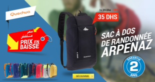 10% Réduction Decathlon Quechua Sac À Dos Journée à 35dhs