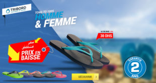 10% Réduction Decathlon Tribord Tongs Sandales Aquashoes – 30dhs