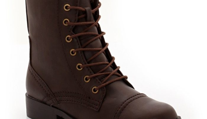 Photo of Prix Normal LES PETITS PRIX Bottines à lacets Marron – 599dhs