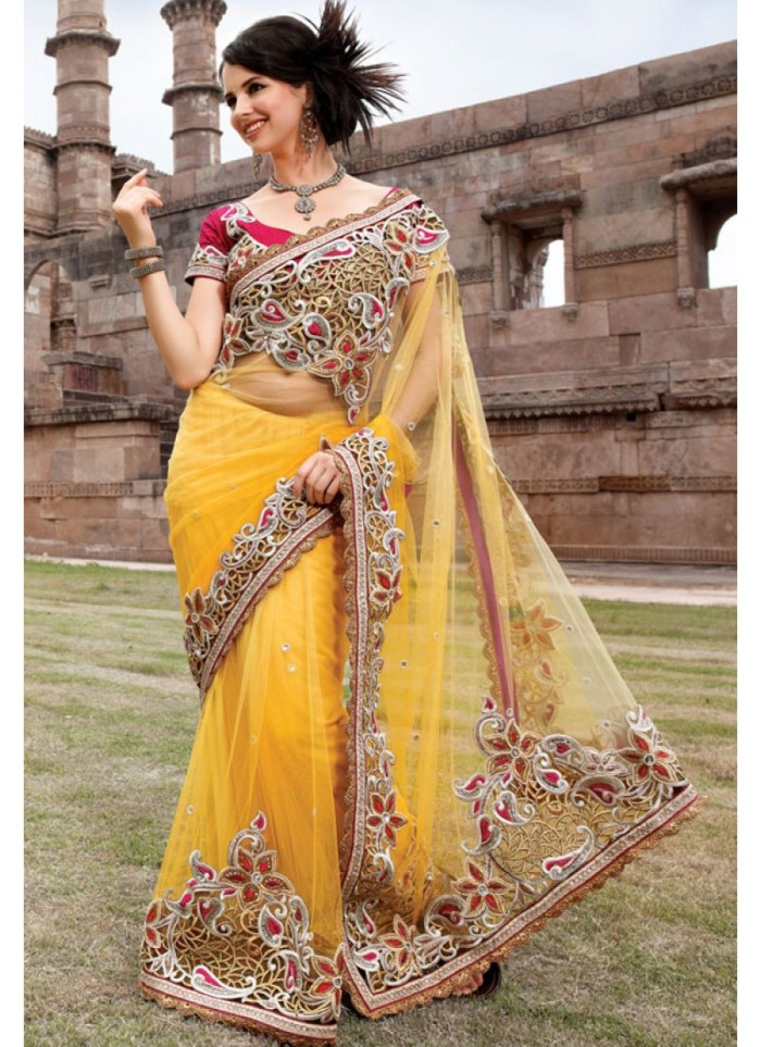 glorious-golden-net-saree-with-blouse-800x1100