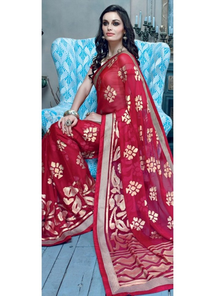 red-and-maroon-color-family-party-wear-saree-in-georgette-fabric-with-stone-800x1100