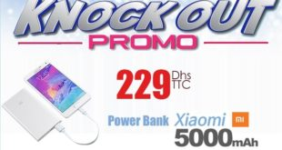 Promo Knock Out chez le Comptoir Electro Power Bank à 229Dhs