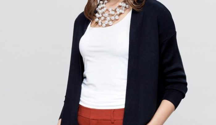 Photo of 63% Réduction Navy Solid Lightweight Cardigan – 79dhs
