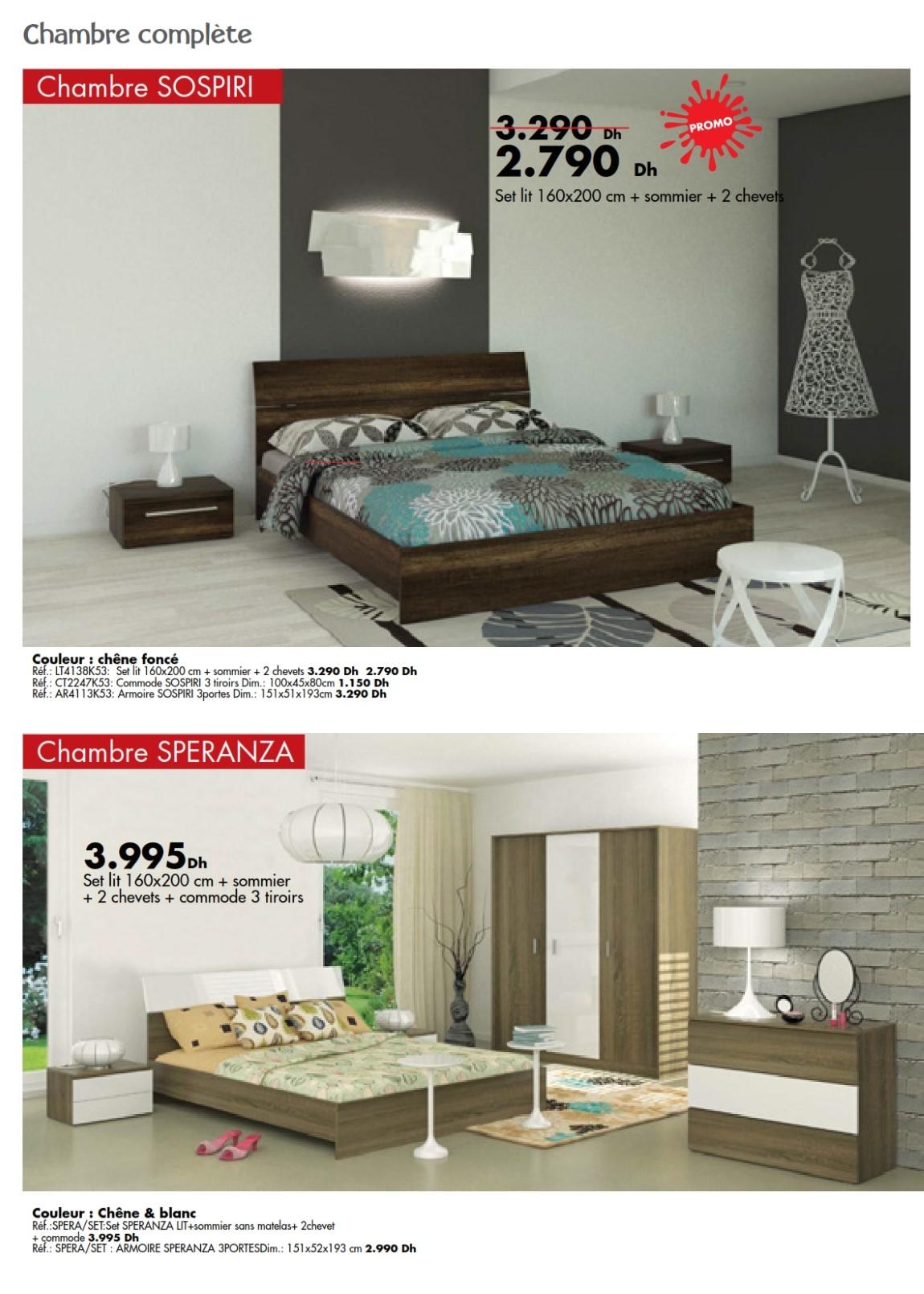 catalogue kitea chambre coucher rangement collection 2016 les soldes et promotions du maroc. Black Bedroom Furniture Sets. Home Design Ideas