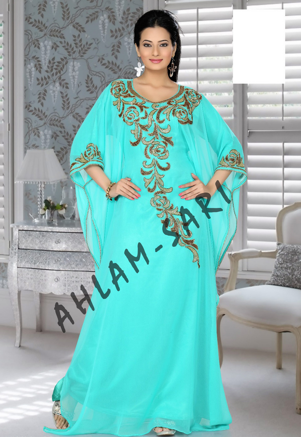 embellish-cyan-color-kaftan-800x1100