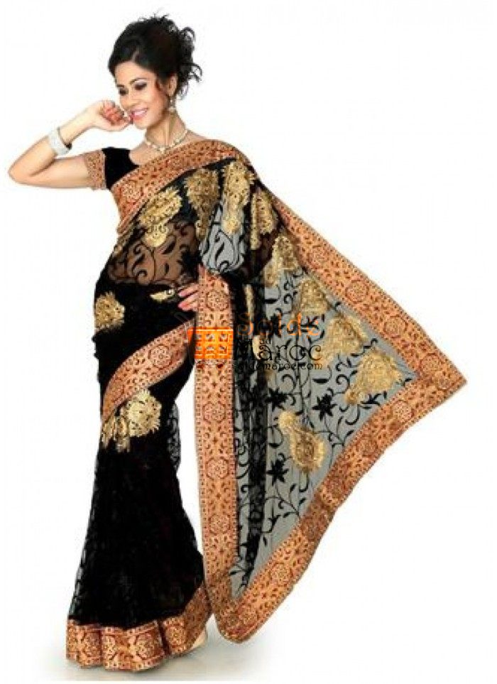 black-net-resham-sequins-and-patch-bordered-saree-as-shown-black-net-blouse-fabric-800x1100