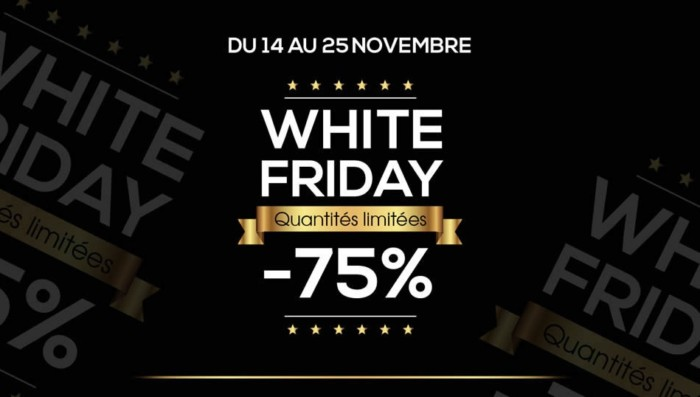 Photo of White Friday chez Hmizate du 25 du 28 Novembre 2016