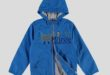 25% Réduction Blue Lightweight Short coat – 179dhs