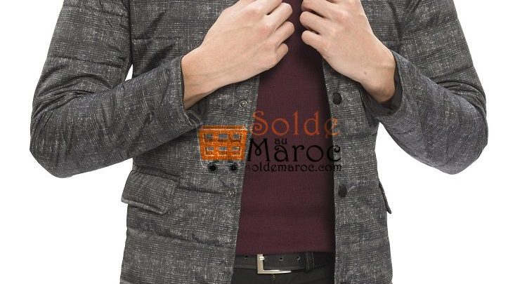 Photo of 48% Réduction Anthracite Skinny Short Short coat – 299dhs