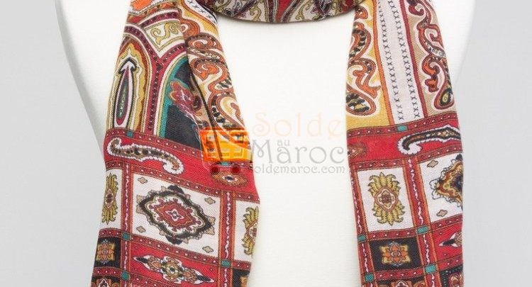 Photo of 40% Réduction Red Scarf – 59dhs