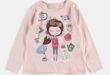28% Réduction Pink Printed Long Sleeve Crew Neck Body – 49dhs
