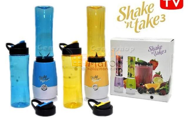 Photo of 25% Réduction Shake n Take 3 Juice Smoothie with 2 Travel bottles – 299dhs