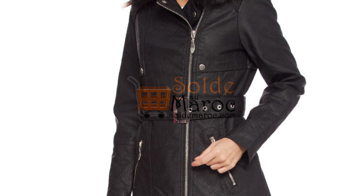 Photo of 54% Réduction Black Midi TRENCHCOAT – 299dhs