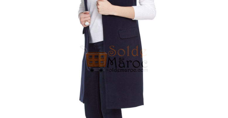 Photo of 63% Réduction Navy Midi Vest – 169dhs