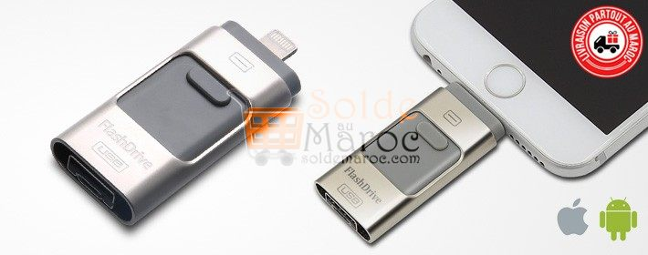Photo of Flash Drive pour iPhone (compatible android) au choix à partir de 179DH