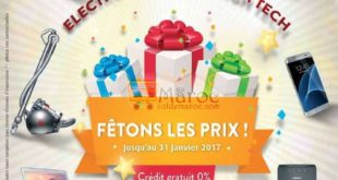 Catalogue Promotionnel Tangerois Janvier 2017