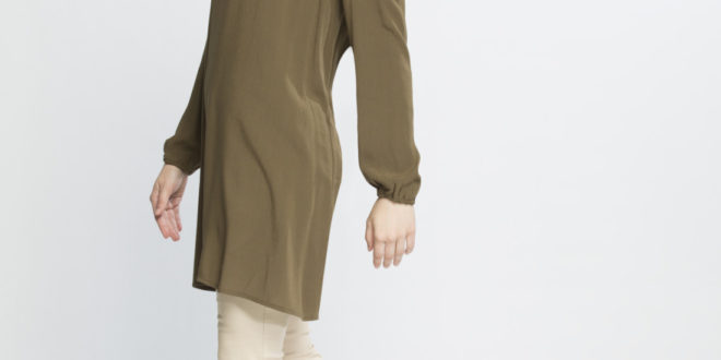 41% Réduction Khaki Tunic – 139dhs