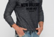 36% Réduction Navy Long Sleeve Crew Neck Skinny T-Shirt – 69dhs