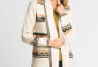 25% Réduction Beige Striped Cardigan – 179dhs