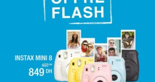 Fnac Morocco Mall 15% Réduction Fujifilm Instax Mini – 849 dhs