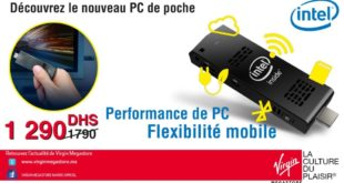 27% Réduction PC de poche Modecom Marques Intel Compute Stick – 1290dhs