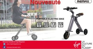 Nouveau chez Virgin Megastore Portable Electric Bike – 6250dhs