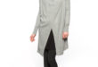 25% Réduction Grey Solid Cardigan – 179dhs