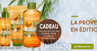 Promotions Yves Rocher Maroc Avril 2017