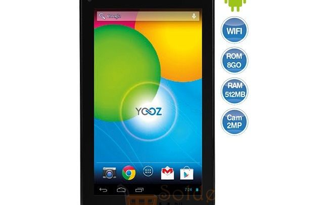 Photo of Promo Carrefour Tablette YOOZ MYPAD 499 DH