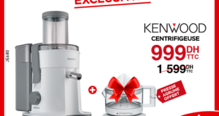 37% Réduction Electroplanet Centrifugeuse Kenwood 999Dhs