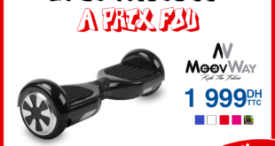 Promotion Electroplanet Hoverboard MoovWay 1999Dhs