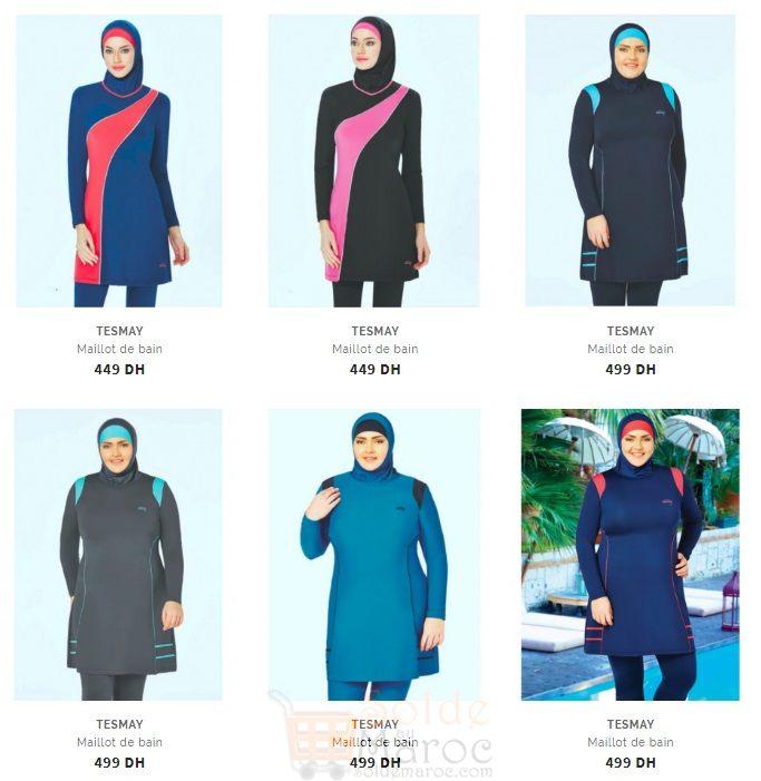 Niswa Collection Burkini Maillot De Bain 2017