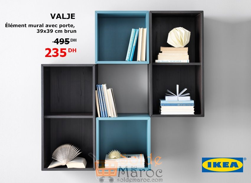 promo ikea maroc etag res murales valje 235dhs les soldes et promotions du maroc. Black Bedroom Furniture Sets. Home Design Ideas