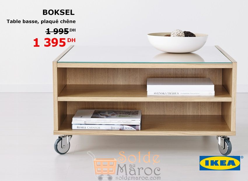 Promo Ikea Maroc Table Boksel 1395dhs Solde Et Promotion