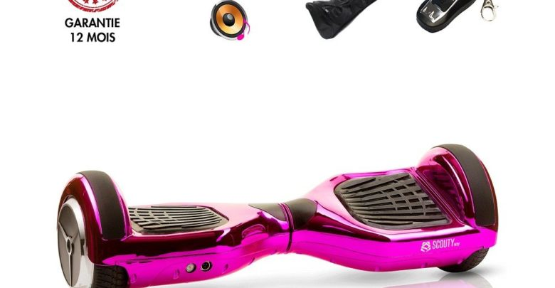 Photo of Hoverboard avec Bluetooth 6.5 Pouces Scoutyway 1599Dhs