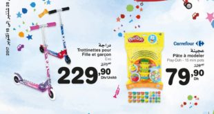 Catalogue Carrefour Maroc du 28 Septembre au 18 Octobre 2017