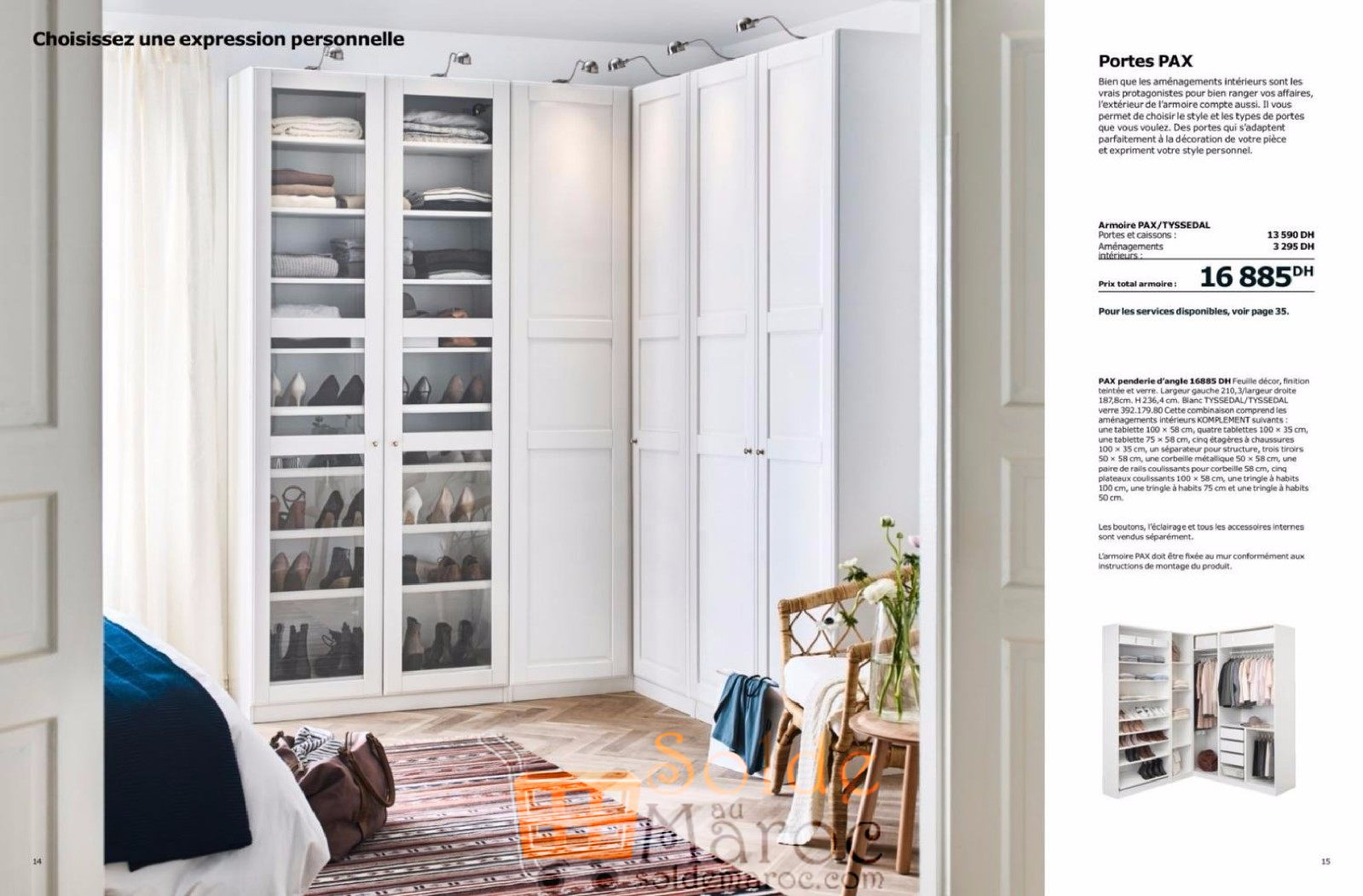 catalogue ikea maroc penderies et armoires 2018. Black Bedroom Furniture Sets. Home Design Ideas