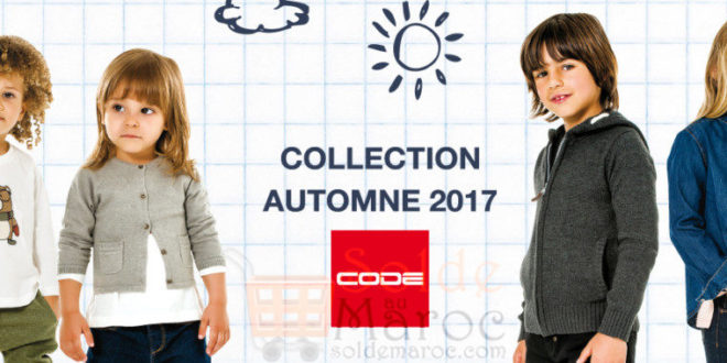 Code Maroc Collection Automne 2017