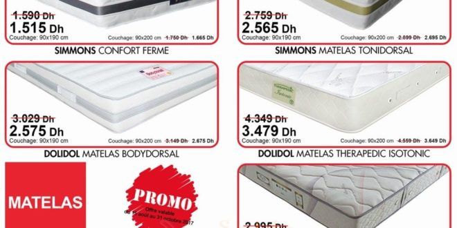 promo kitea sp ciale matelas les soldes et promotions du maroc. Black Bedroom Furniture Sets. Home Design Ideas