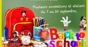 Morocco Mall Back To School jusqu'au 20 Septembre 2017