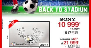 Promo Electroplanet SMART TV SONY UHD 4K 55″ 10999Dhs