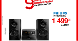 Promo Electroplanet Micro-chaîne PHILIPS 1499Dhs