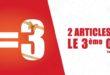 Promo Diamantine 2 articles le 3 ème est OFFERT