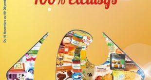Catalogue Carrefour Maroc Produits Exclusifs Jusqu'au 09 Décembre 2017